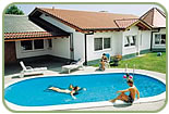 Inground prefabricated swimming pool